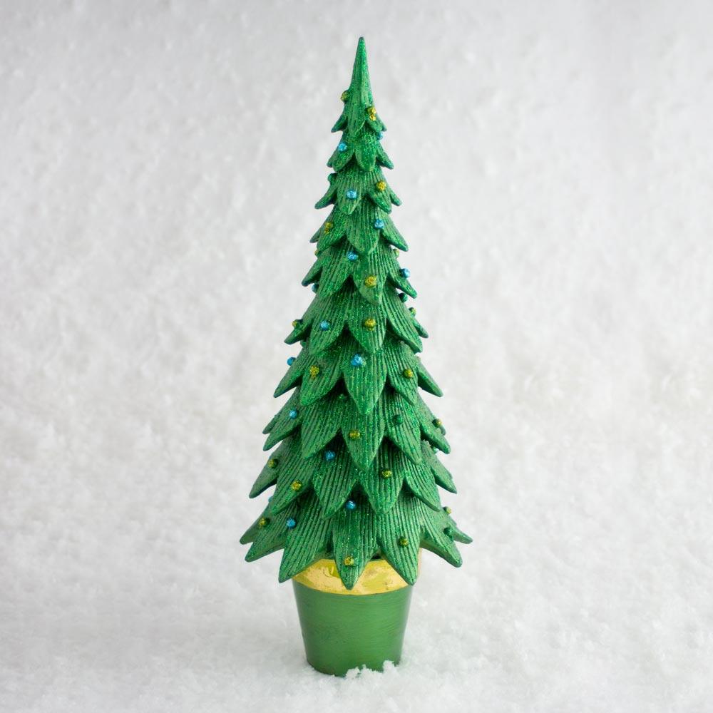 Baum zum stellen, dunkelgrün, groß