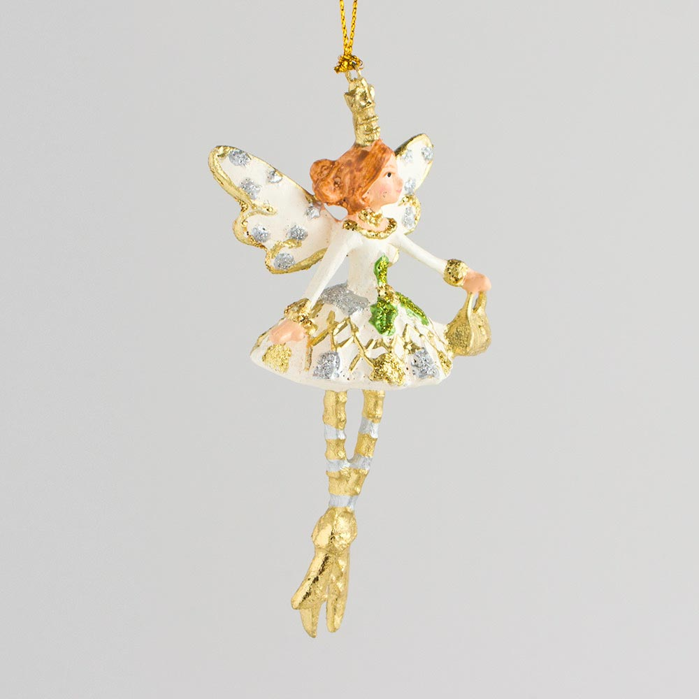 Shopping-Prinzessin, weiß-gold