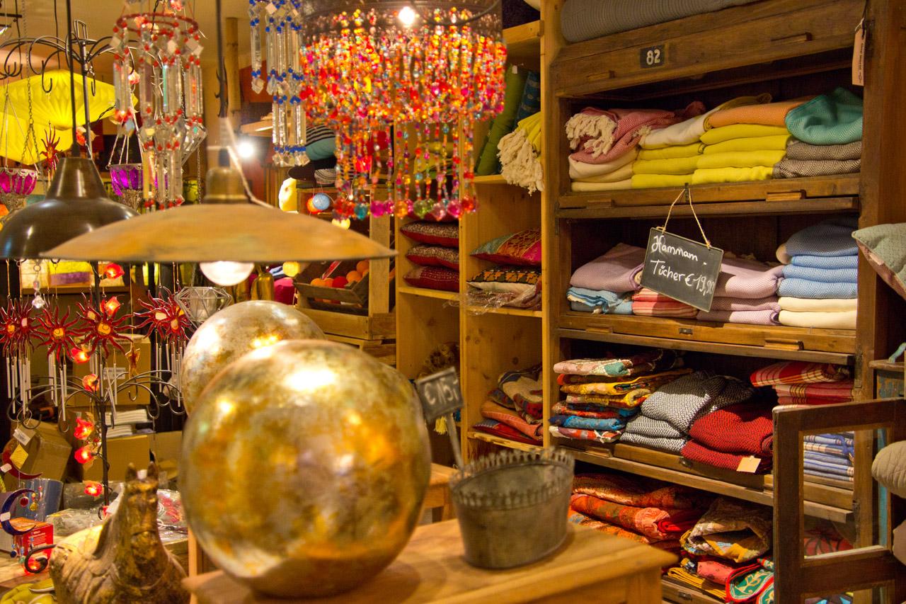 Geschenke und Textilien