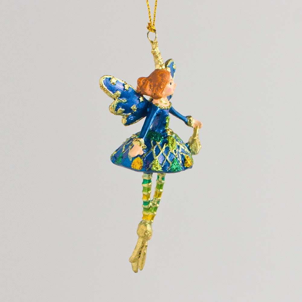 Shopping-Prinzessin, blau